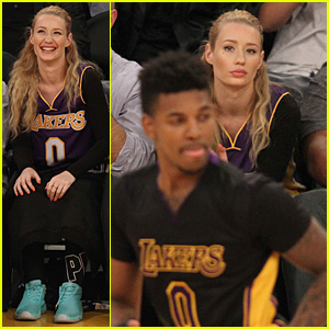 Nick Young   s Face on the Kiss Cam    Iggy Azalea  Nick Young   JustIggy Azalea Nick Young Photoshoot