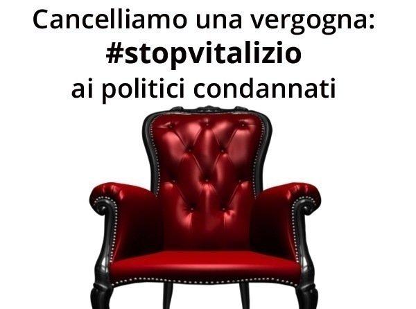 Petition update ci siamo abolizione vitalizi condannati for Vitalizi dei parlamentari