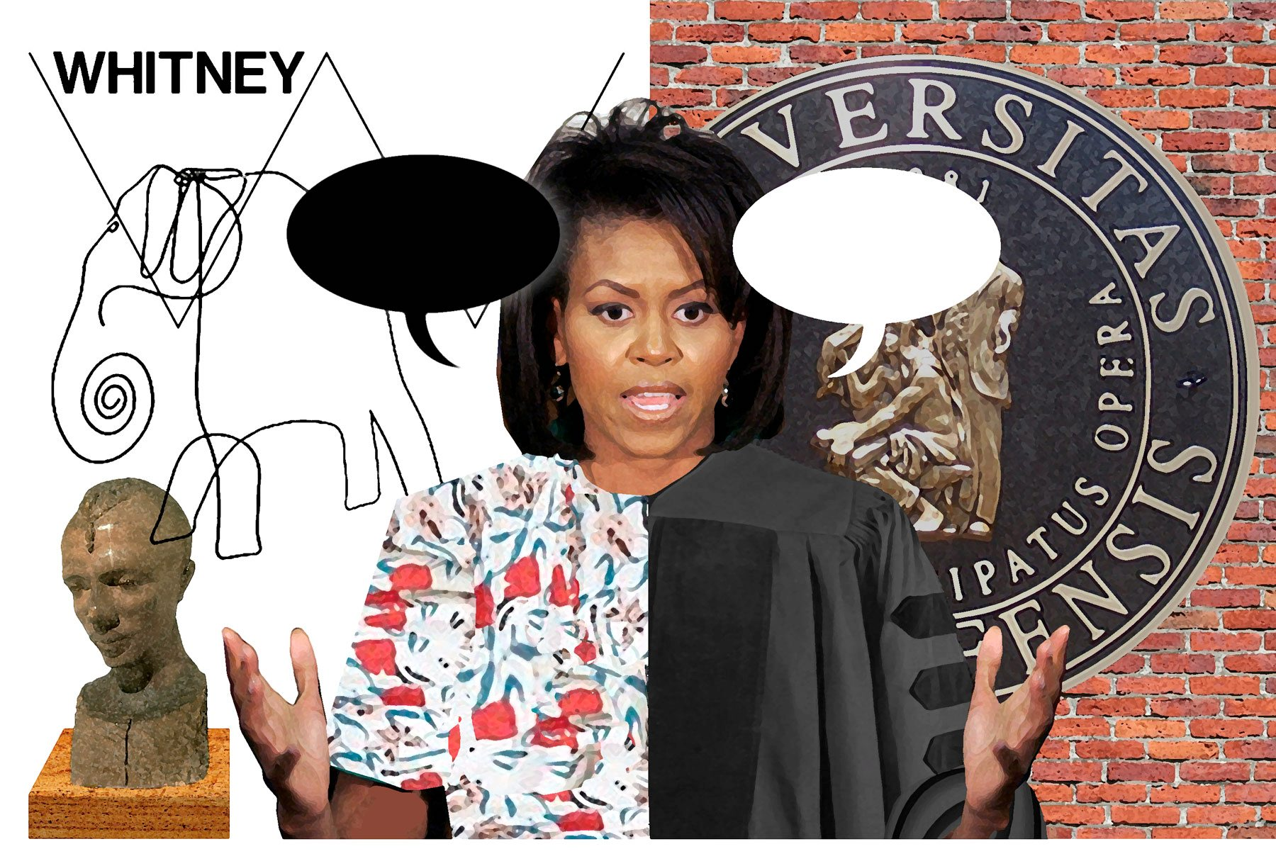 michelle obama thesis princeton university Michelle obama's senior year thesis at princeton university, obtained from the campaign by politico, shows a document written by a young woman grappling with a society in which a black princeton alumnus might only be allowed to remain &quoton the periphery.