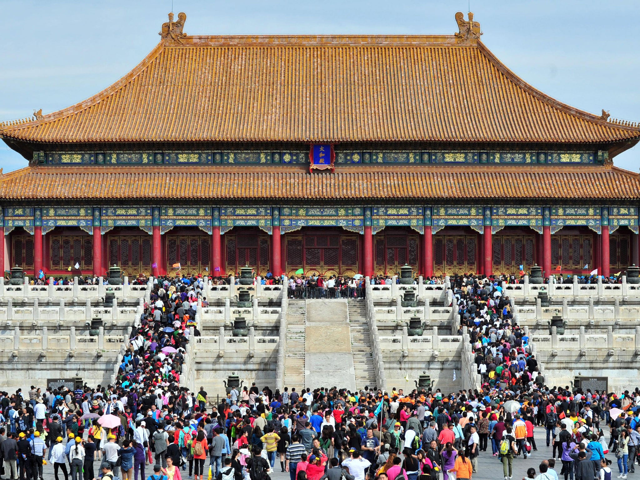 forbidden city 'forbidden city' is an approximation of the chinese 紫禁城 (zǐjìn chéng), a poetic moniker that also references the colour purple and the cosmically significant north star, the 'celestial seat' of the emperor.
