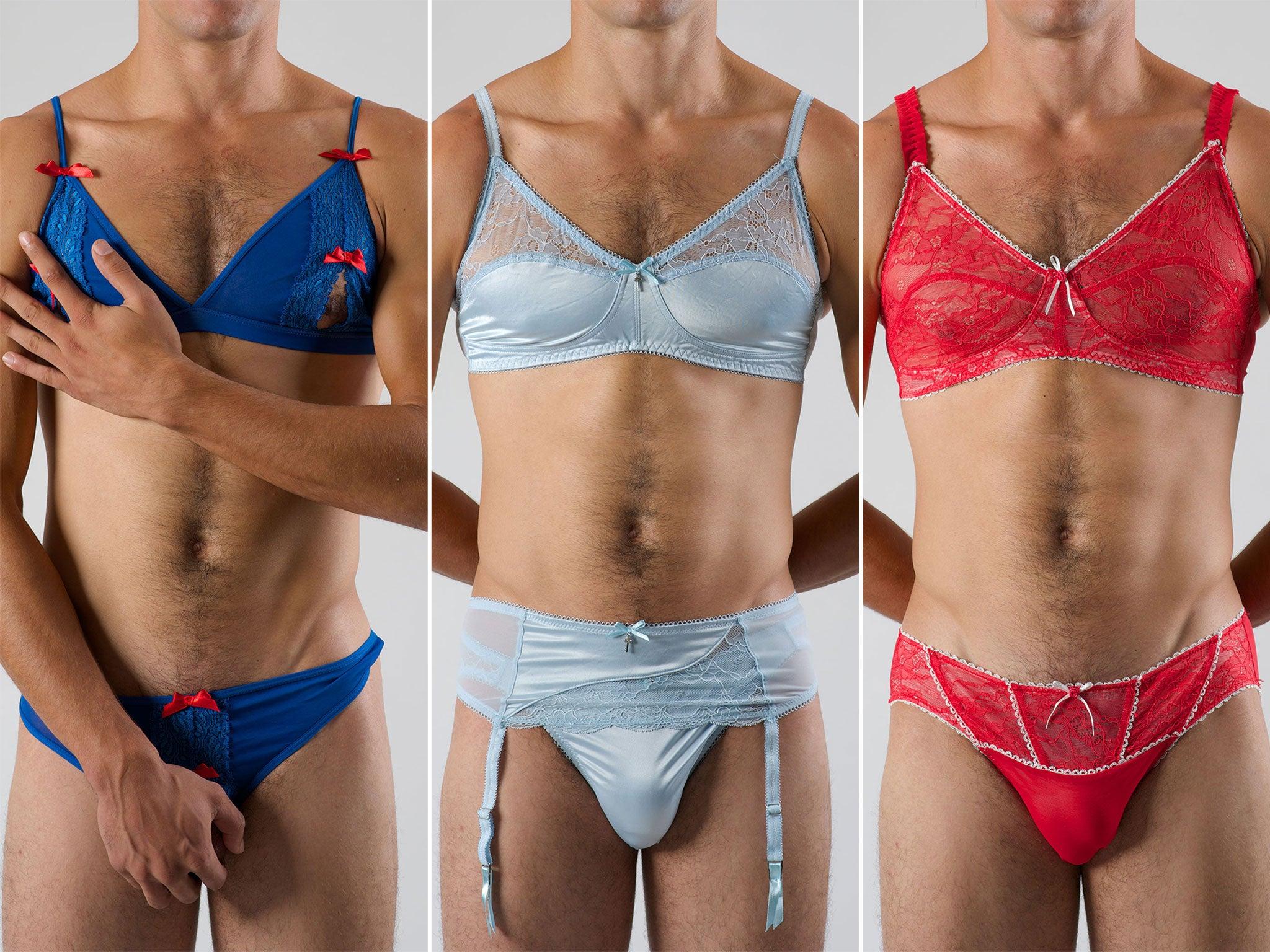 Фото мужчин одетых в женское белье 12 фотография