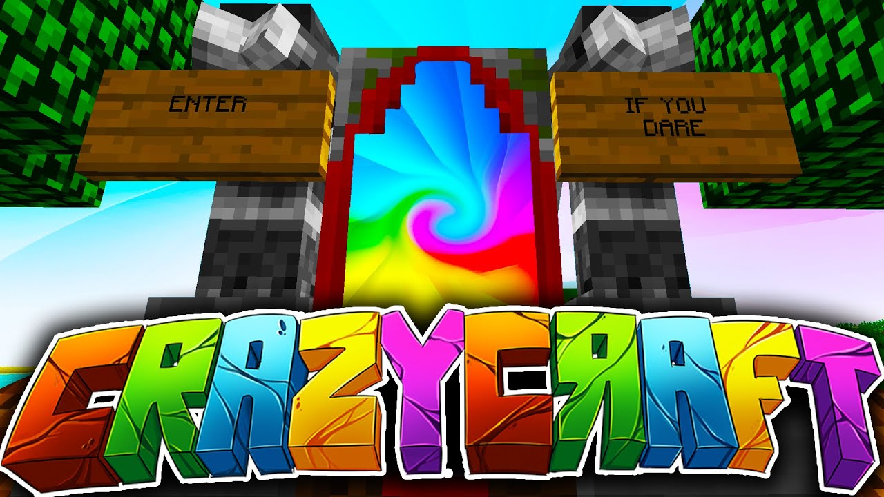 minecraft crazy craft 3 0 10 27 lucky block insanity