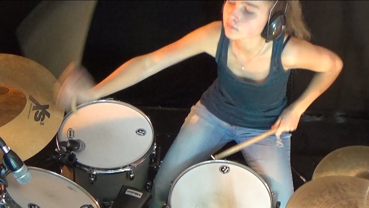 I Was Made For Lovin' You (KISS); drum cover by Sina