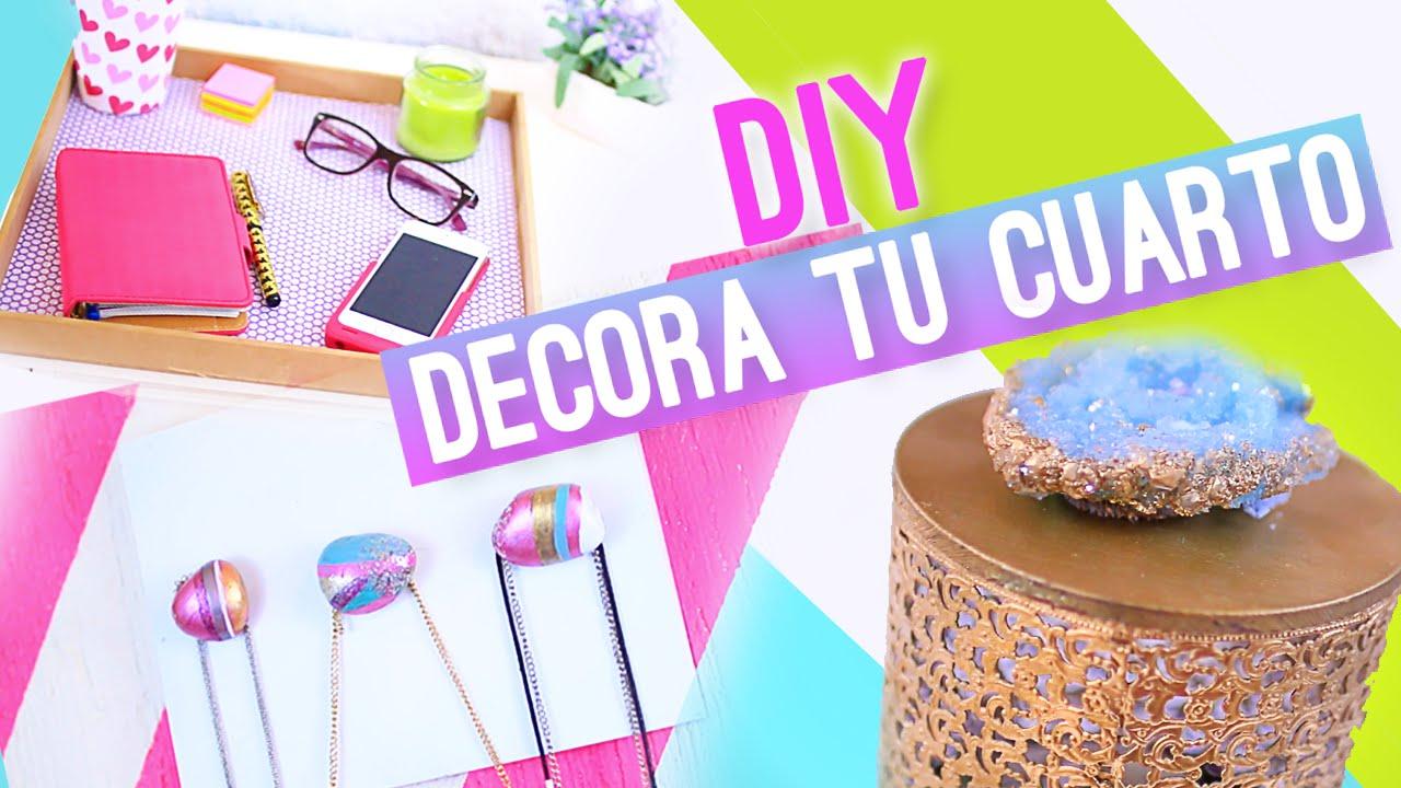 Jaulita para decorar tu habitacion youtube for Crear decoraciones para casa