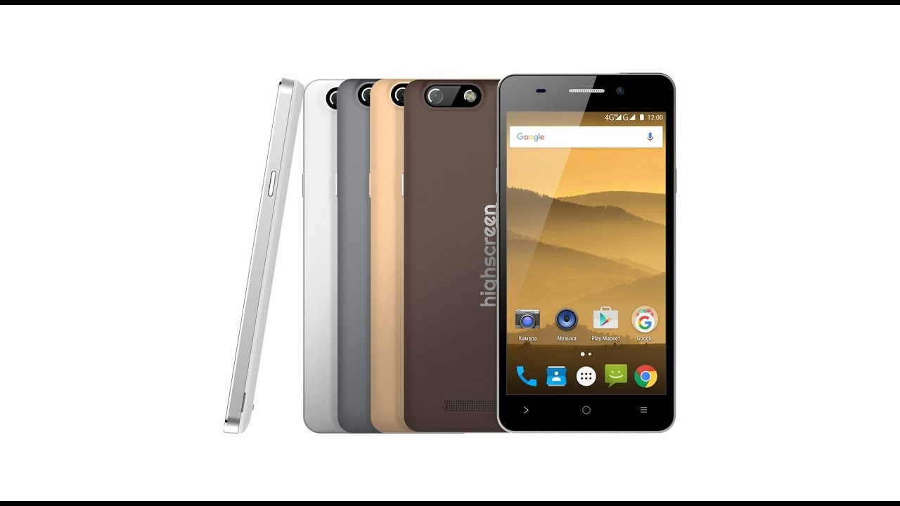 Смартфон highscreen power five evo белый видео