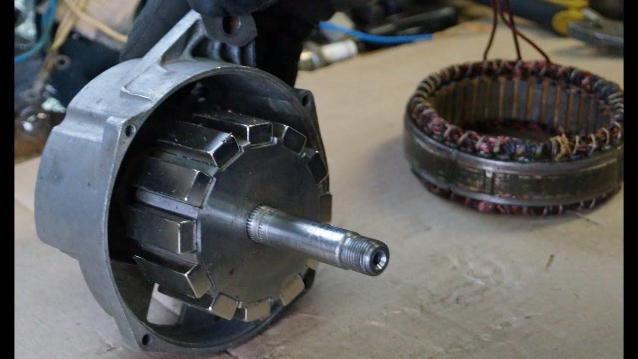 Самодельный генератор для ветряка 12 неодимовых магнитов - YouTube - Linkis.com