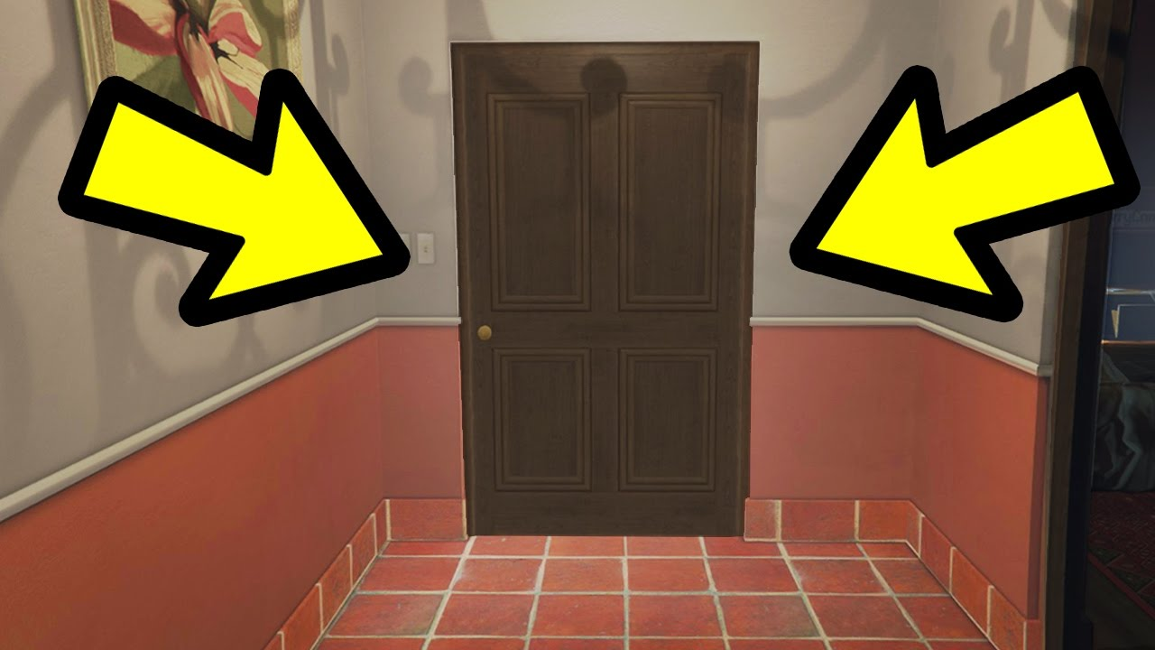 Gta 5 where does tracey drive to youtube for Gta v bedroom door locked