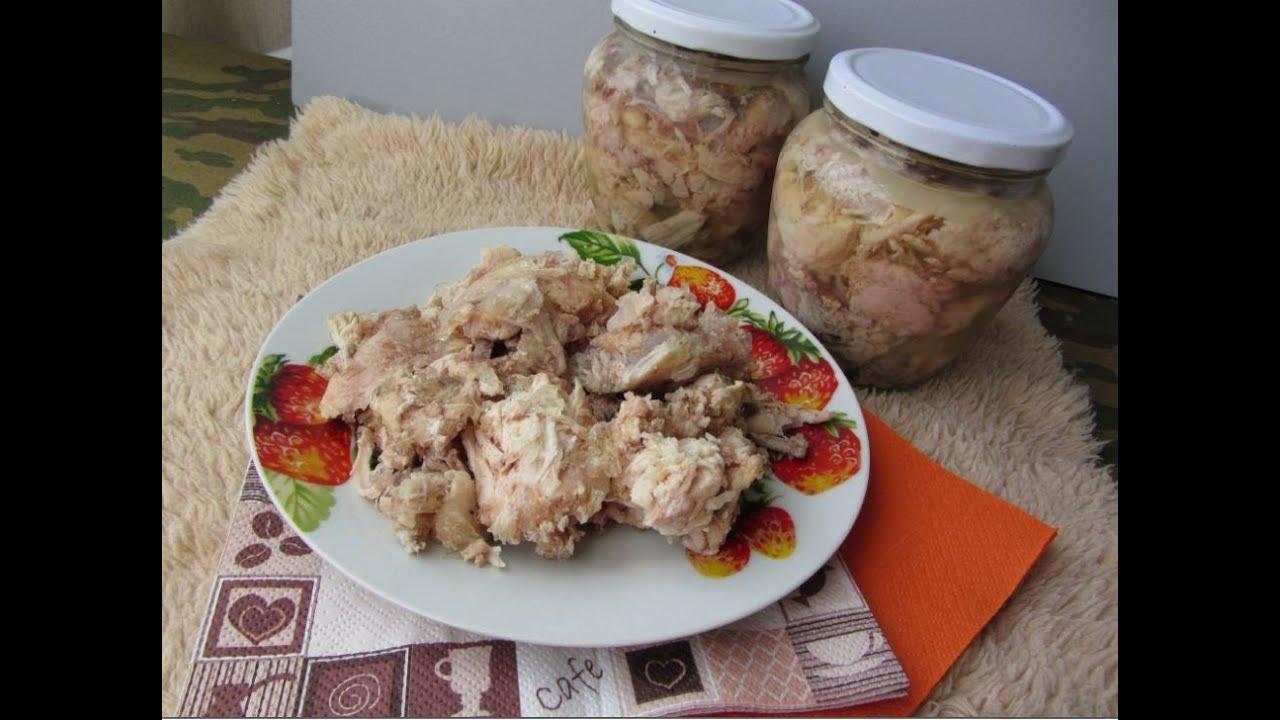 Тушёнка в автоклаве в домашних условиях рецепты из курицы