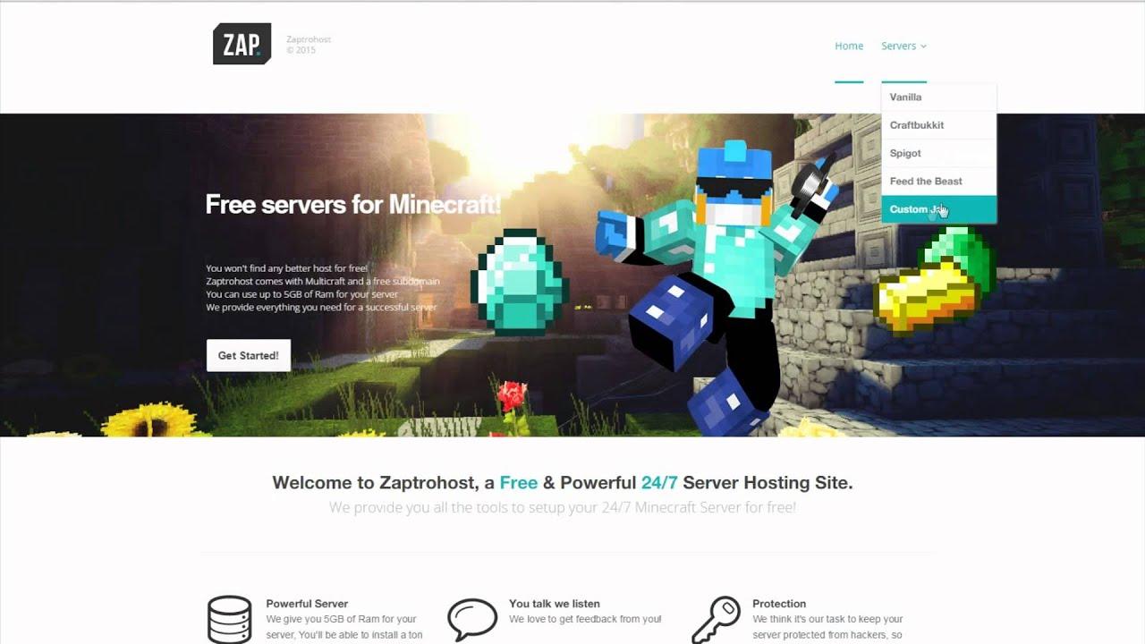 купить сервер майнкрафт 0.16.2 на хостинг #3