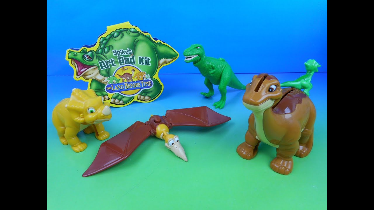 Land Before Time Toys : Mr potato head set of jack in the box kids meal