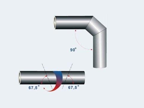 Как разрезать трубу под углом 45 или 90 градусов - YouTube - Linkis.com