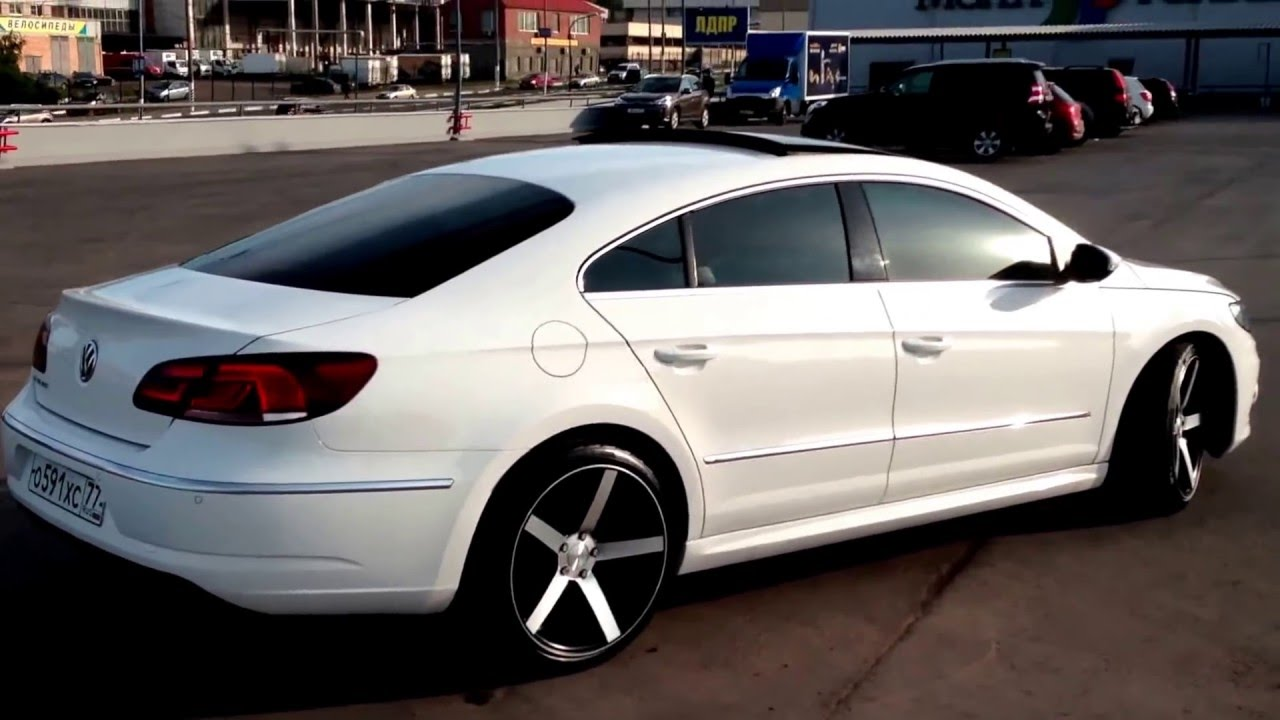 vw passat cc facelift 2012 r line vossen cv3 youtube. Black Bedroom Furniture Sets. Home Design Ideas