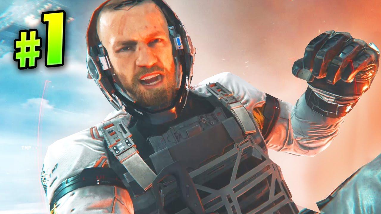 Call Of Duty Infinite Warfare Black Sky Under Attack Mission