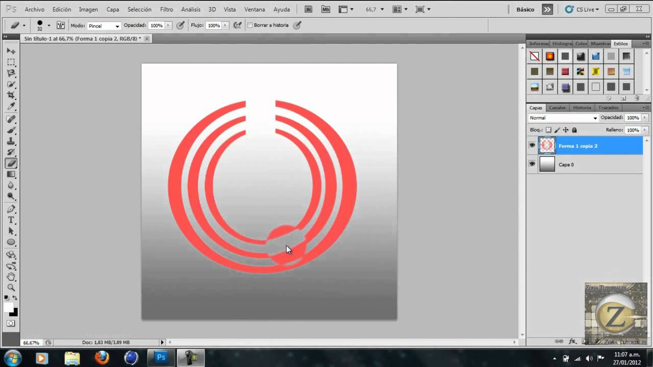 Como crear un logo 3d con photoshop cs5 cs go стим скачать торрент