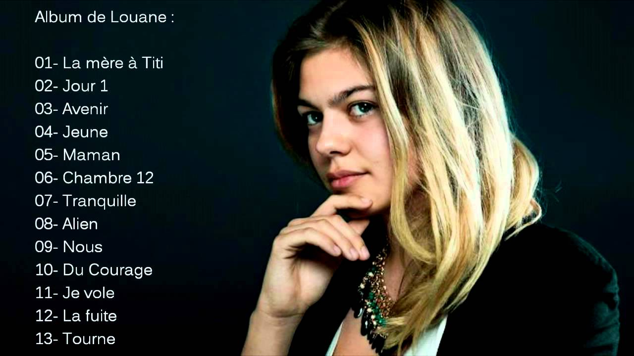 Album de louane youtube for Louane emera chambre 12