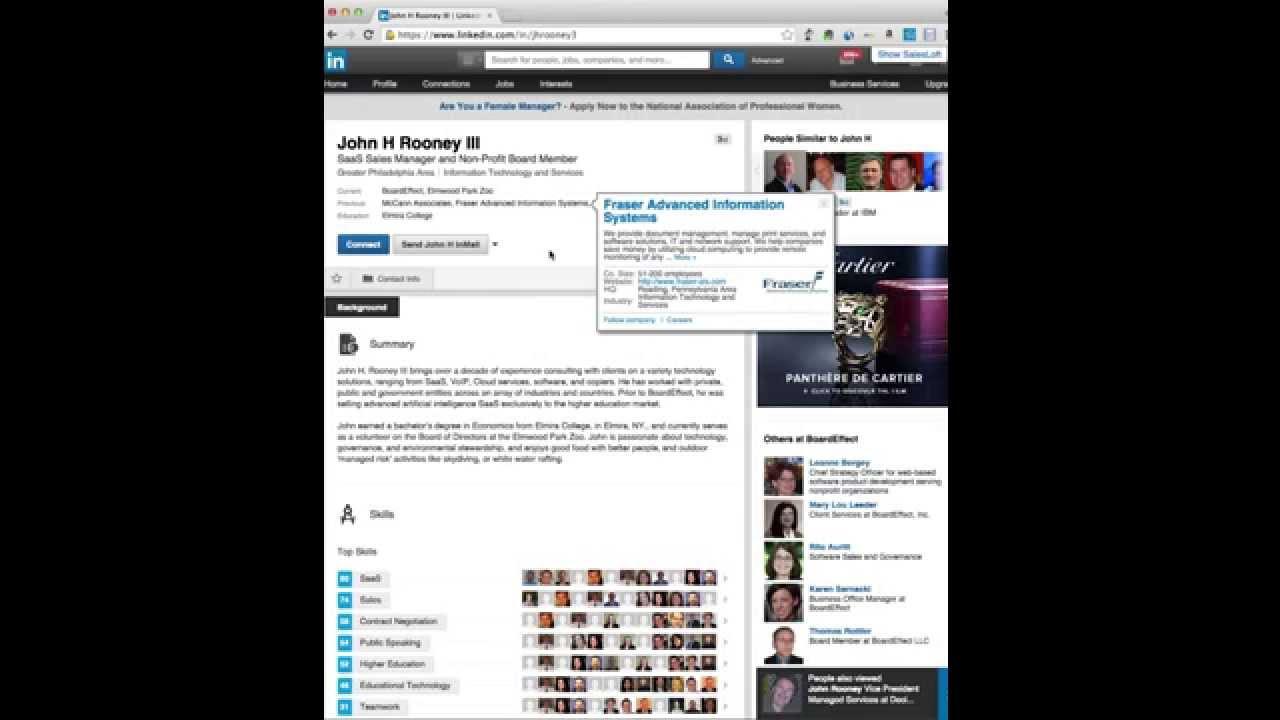 linkedin profile makeover services