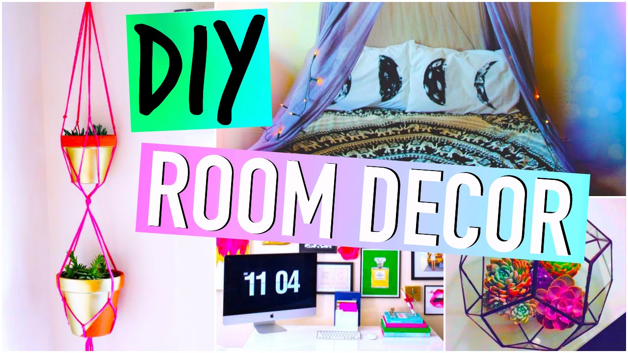 Easy Tumblr Room Decor Diy Room Decorations Tumblr