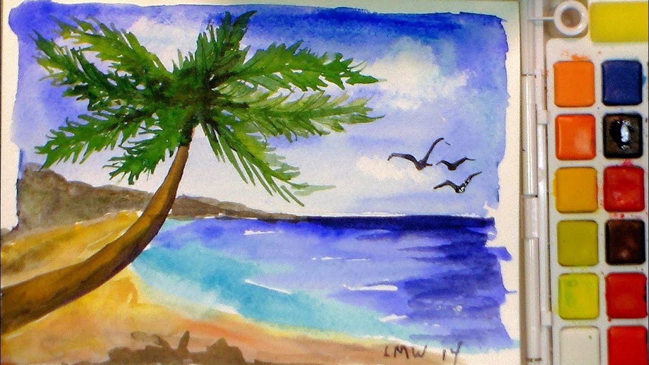 Обои на рабочий стол настроения:рисунок, облака, деревья, озеро, вода, мечта, девочка, пейзаж
