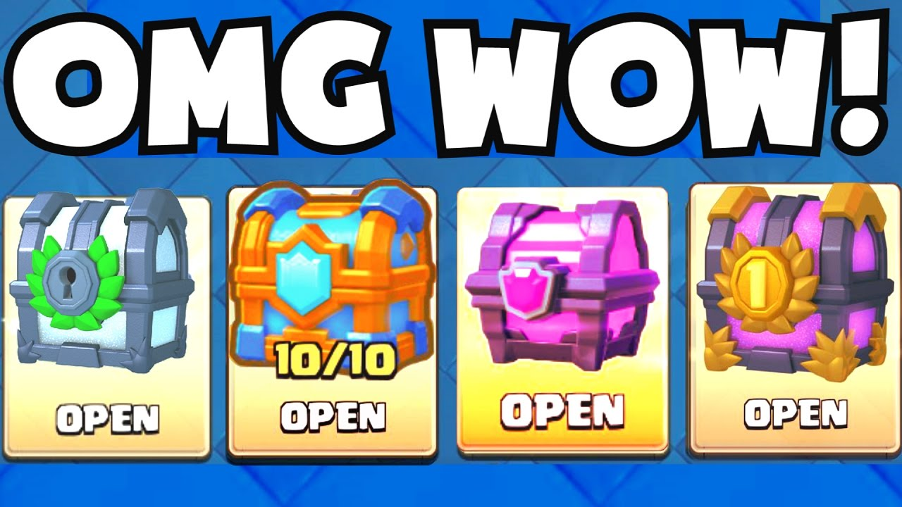 OPENING ALL MY MAGICAL CHESTS :: Clash Royale :: ALL FOUR ''MAGICAL ...