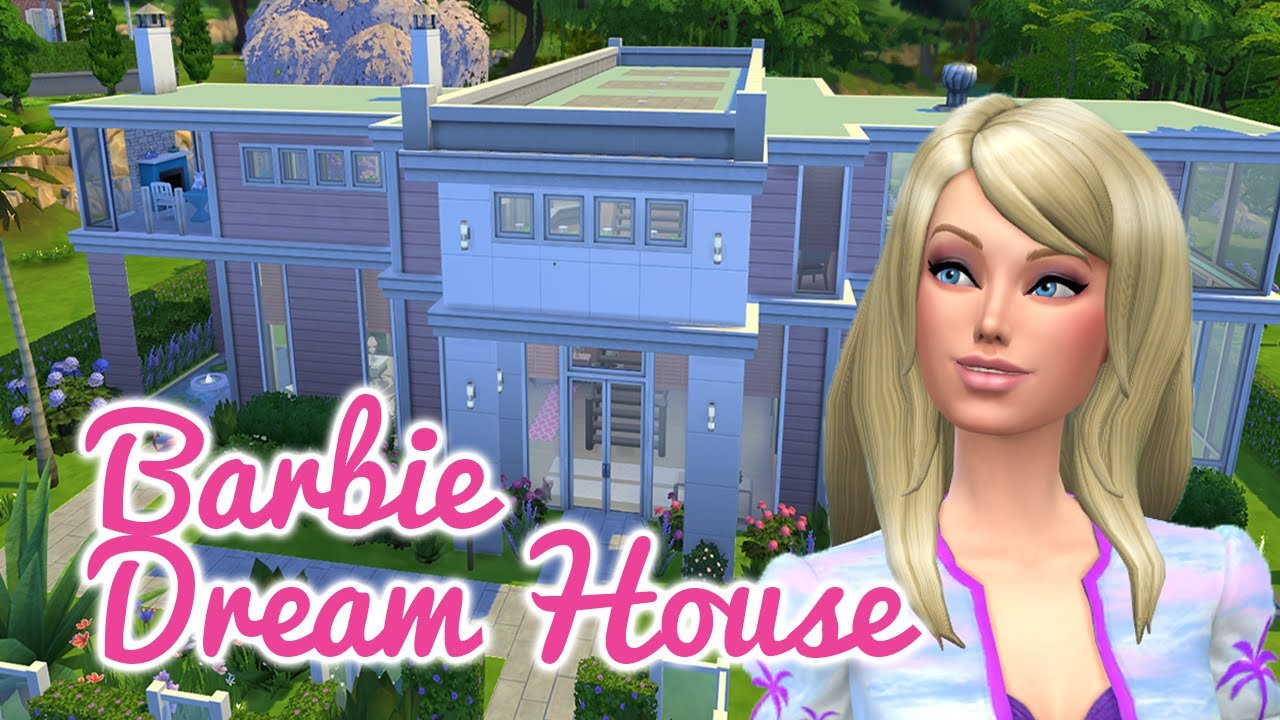 The Sims 4 Gtw Speed Build Barbie 39 S Boutique Youtube