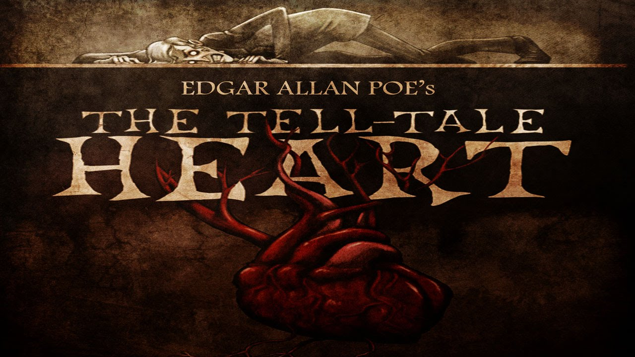 a review of edgar allan poes short story the tell tale heart Poe's classic short story of murder and madness is here subtly but effectively repurposed to haunt the dreams of a whole new generation of readers  the tell tale heart  by edgar allan poe children charlie brown's all-stars by charles m schulz children.