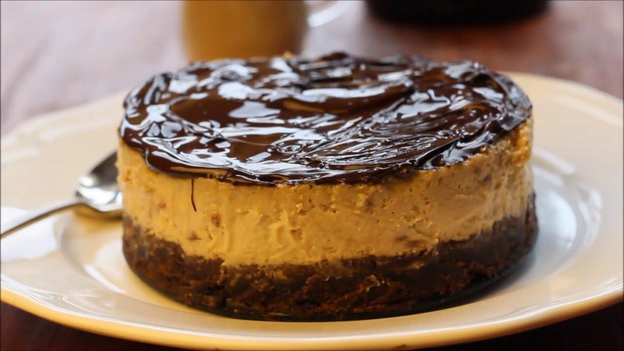 Baked Baileys Cheesecake Video Recipe - YouTube - Linkis.com